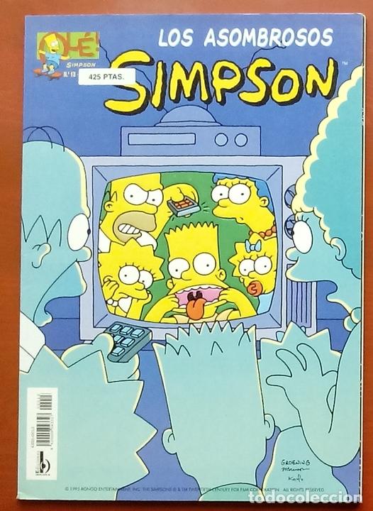 OLÉ! SIMPSON Nº 13 - LOS ASOMBROSOS SIMPSON DE MATT GROENING (Tebeos y Comics - Ediciones B - Humor)