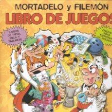 Cómics: MORTADELO Y FILEMÓN. LIBRO DE JUEGOS - EDICIONES B - 1ª EDICIÓN, 2004.. Lote 80072429