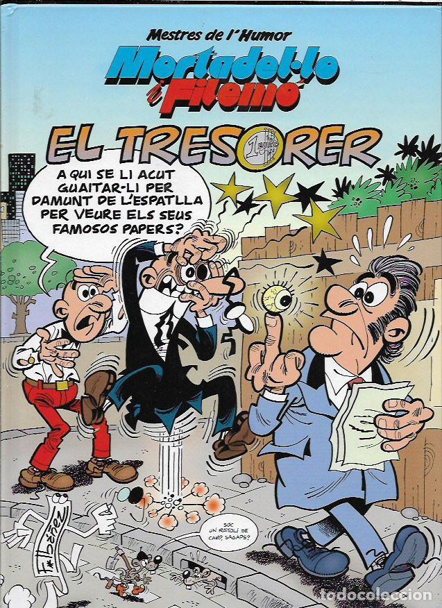 MORTADELO I FILEMÓ * EL TRESORER * (Tebeos y Comics - Ediciones B - Humor)