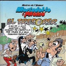 Cómics: MORTADELO I FILEMÓ * EL TRESORER *. Lote 80143657