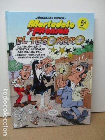 SUPER HUMOR MORTADELO EDICIONES B -EL TESORERO BARCENAS- DIFICIL DE ENCONTRAR. COMO NUEVO (Tebeos y Comics - Ediciones B - Humor)