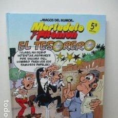 Cómics: SUPER HUMOR MORTADELO EDICIONES B -EL TESORERO BARCENAS- DIFICIL DE ENCONTRAR. COMO NUEVO . Lote 80328225