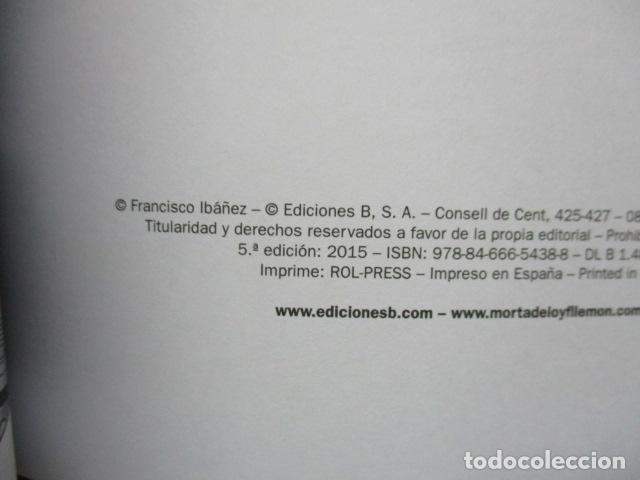 Cómics: SUPER HUMOR MORTADELO EDICIONES B -EL TESORERO BARCENAS- DIFICIL DE ENCONTRAR. COMO NUEVO - Foto 3 - 80328225