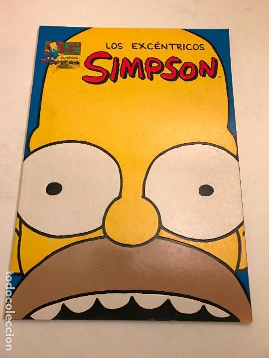 COLECCION OLE Nº 2. LOS EXCENTRICOS SIMPSON. EDICIONES B 1996 (Tebeos y Comics - Ediciones B - Humor)
