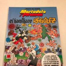 Cómics: MAGOS DEL HUMOR Nº 109. MORTADELO Y FILEMON. EL KAMIKAZE REGULEZ. EDICIONES B. Lote 80736242