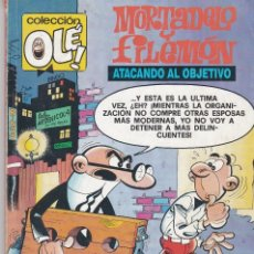 Cómics: OLÉ MORTADELO Y FILEMÓN. ATACANDO AL OBJETIVO. M,238. 1992. Lote 80814347