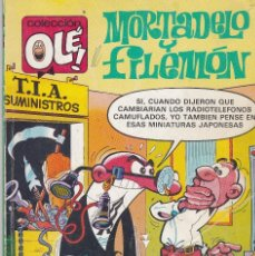 Cómics: OLÉ MORTADELO Y FILEMÓN. 215-M 129 1988. Lote 80817675