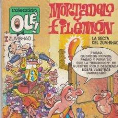 Cómics: OLÉ MORTADELO Y FILEMÓN. 315 M41 1987. Lote 80818103