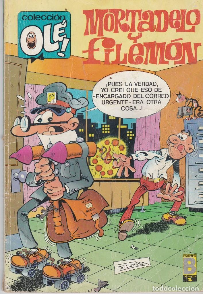OLÉ MORTADELO Y FILEMÓN. 71-M.78 1990 (Tebeos y Comics - Ediciones B - Otros)