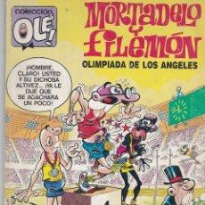 Cómics: OLÉ MORTADELO Y FILEMÓN. OLIMPIADA EN LOS ÁNGELES. 296-M.86 1988. Lote 80819391