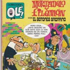 Cómics: OLÉ MORTADELO Y FILEMÓN CON EL BOTONES SACARINO. 222 M.230 1992. Lote 80819967