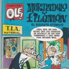 Cómics: OLÉ MORTADELO Y FILEMÓN. EL SULFATO ATÓMICO. 139-M. 9 1991. Lote 80820415