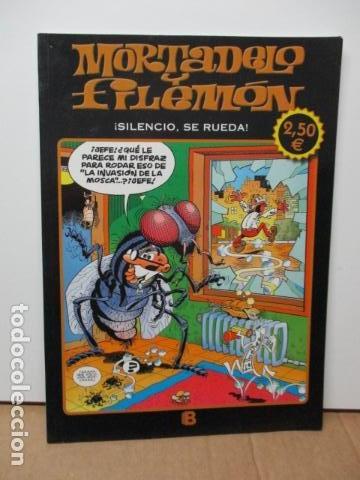 MORTADELO Y FILEMON. SILENCIO, SE RUEDA. (Tebeos y Comics - Ediciones B - Humor)