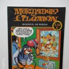 Cómics: MORTADELO Y FILEMON. SILENCIO, SE RUEDA. . Lote 80996724