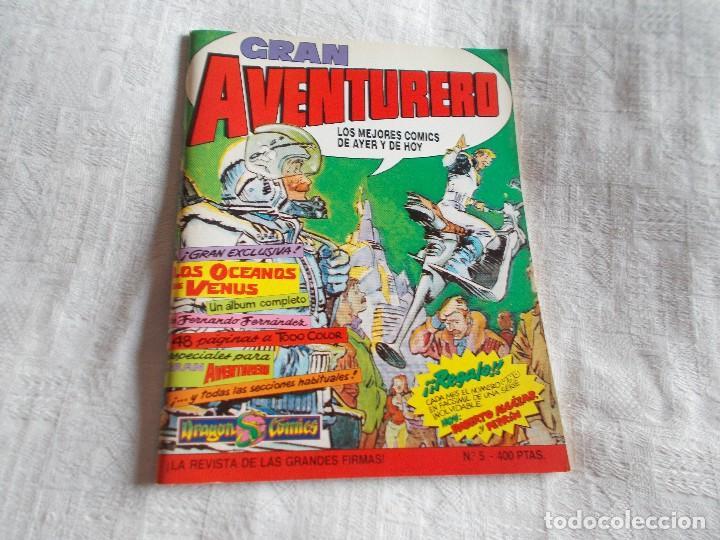 GRAN AVENTURERO Nº 5 (Tebeos y Comics - Ediciones B - Otros)