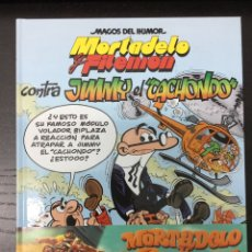 Cómics: MAGOS DEL HUMOR 166: MORTADELO Y FILEMÓN - CONTRA JIMMY EL
