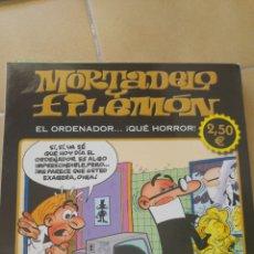 Cómics: MORTADELO Y FILEMÓN- EL ORDENADOR QUE HORROR. Lote 85278304
