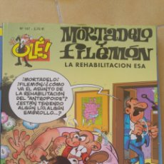 Cómics: OLE!- MORTADELO Y FILEMÓN- LA REHABILITACIÓN ESA, Nº 157. Lote 85279011