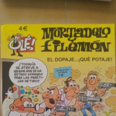 Cómics: OLE! MORTADELO Y FILEMÓN- EL DOPAJE... QUE POTAJE! N° 177. Lote 85280416