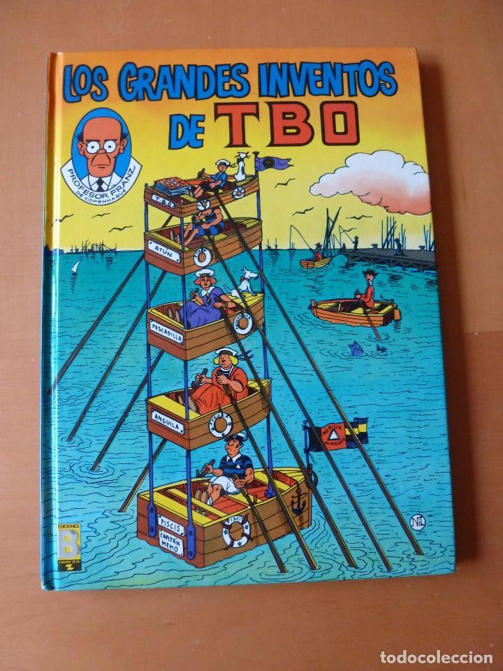 LOS GRANDES INVENTOS DE TBO. EDICIONES B (Tebeos y Comics - Ediciones B - Clásicos Españoles)