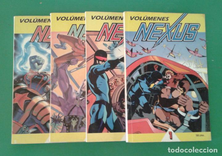 NEXUS, 4 RETAPADOS DE EDICIONES B, DE MIKE BARON Y STEVE RUDE (Tebeos y Comics - Ediciones B - Otros)