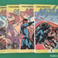 Cómics: NEXUS, 4 RETAPADOS DE EDICIONES B, DE MIKE BARON Y STEVE RUDE. Lote 86235076