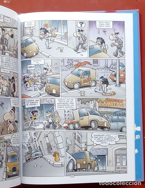 Cómics: MAGOS DEL HUMOR - SUPER LÓPEZ, IBA CAMINANDO... de JAN - EDICIONES B 2007 - Foto 8 - 86292430