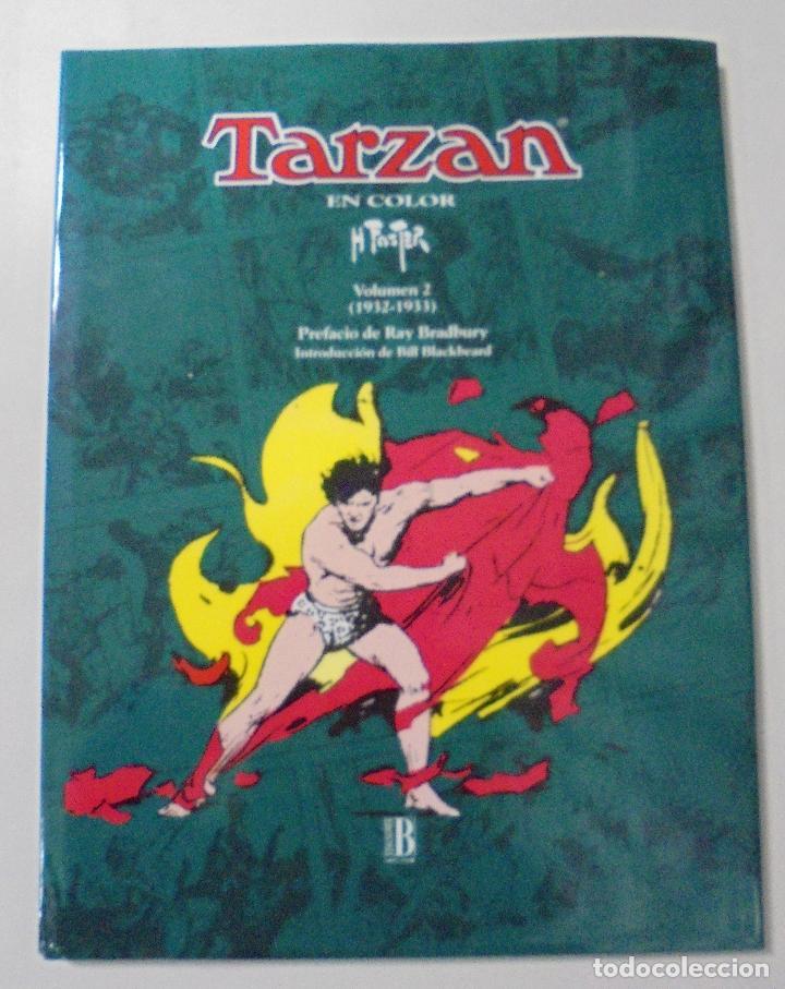 TARZAN. HAL FOSTER. EDGAR RICE BURROUGHS. VOL. 2 (1932-1933). ED. B. PERFECTO ESTADO. 36,2X27,2CM (Tebeos y Comics - Ediciones B - Otros)