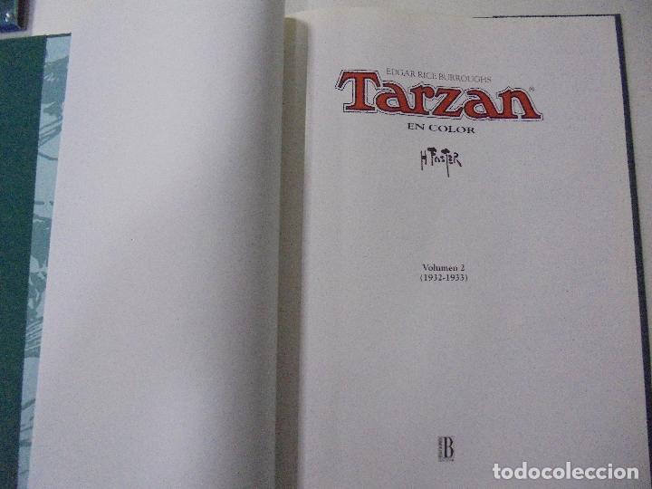Cómics: TARZAN. HAL FOSTER. EDGAR RICE BURROUGHS. VOL. 2 (1932-1933). ED. B. PERFECTO ESTADO. 36,2X27,2CM - Foto 12 - 86330576
