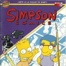 Cómics: SIMPSON CÓMICS - Nº 13 - EDICIONES B / COMICS BONGO GROUP - 1996. Lote 86365492