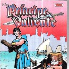 Cómics: PRÍNCIPE VALIENTE. Nº58. EDICIONES B. AÑO 1988.. Lote 86520376