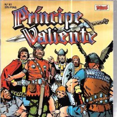 Cómics: PRÍNCIPE VALIENTE. Nº61. EDICIONES B. AÑO 1988.. Lote 86520460