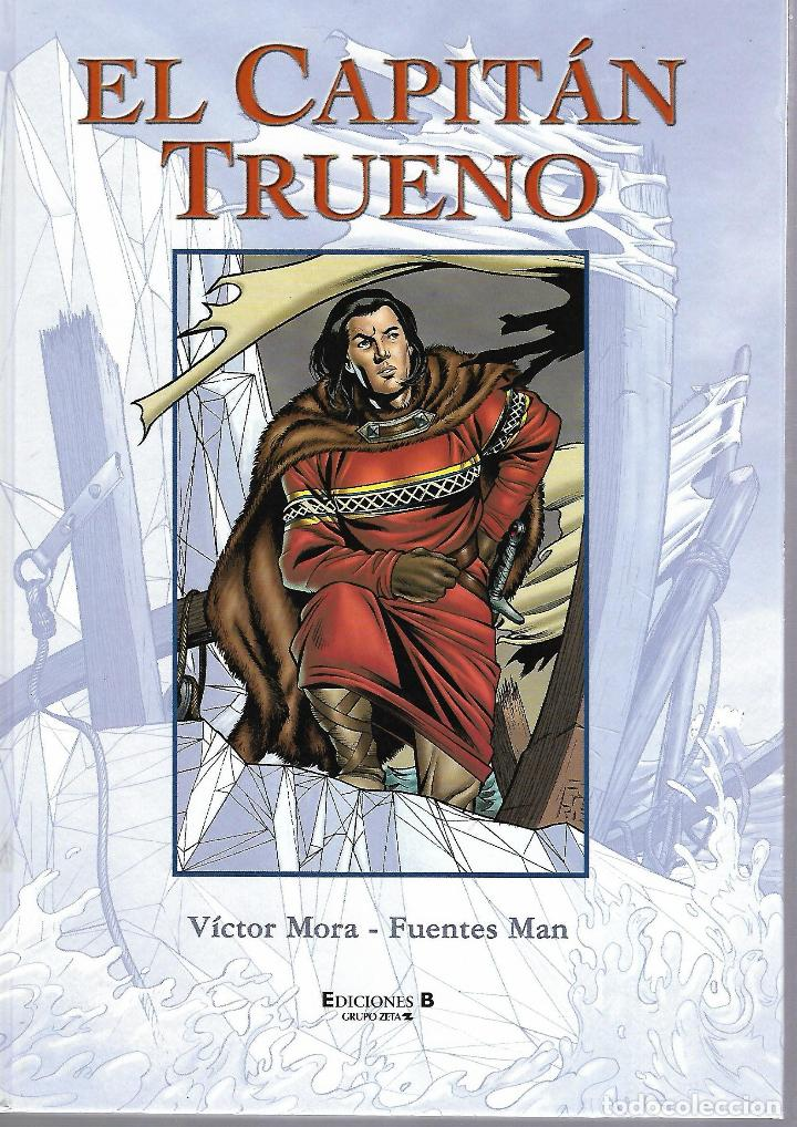 EL CAPITAN TRUENO. Nº 4. EDICIONES B. 50 ANIVERSARIO. 2001. VICTOR MORA / FUENTES MAN. (Tebeos y Comics - Ediciones B - Clásicos Españoles)