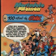 Cómics: MAGOS DEL HUMOR 67 - MORTADELO Y FILEMÓN -100 AÑOS DE CÓMIC. Lote 86539260