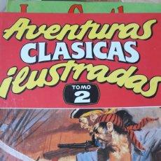 Cómics: AVENTURAS CLÁSICAS ILUSTRADAS. TOMO 2.. Lote 86974263