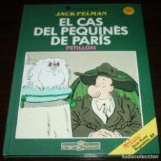 Cómics: JACK PELMAN, EL CAS DEL PEQUINÈS DE PARIS - PETILLON - DRAGON COMICS ED. B - 1989 - EN CATALÁN. Lote 87131776