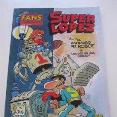 Cómics: FANS SUPER LOPEZ OLÉ Nº 14 , EL ASOMBRO DEL ROBOT Y UNA VEZ EN UNA CIUDAD -JAN EDICIONES B, E8. Lote 87137308