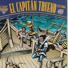 Cómics: EL CAPITAN TRUENO. FANS. EDICIONES B. Nº 25. DOS AVENTURAS COMPLETAS.. Lote 87325444
