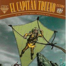 Cómics: EL CAPITAN TRUENO. FANS. EDICIONES B. Nº 21. DOS AVENTURAS COMPLETAS.. Lote 87325624