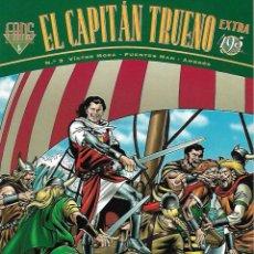 Cómics: EL CAPITAN TRUENO. FANS. EDICIONES B. Nº 3. DOS AVENTURAS COMPLETAS.. Lote 104099532