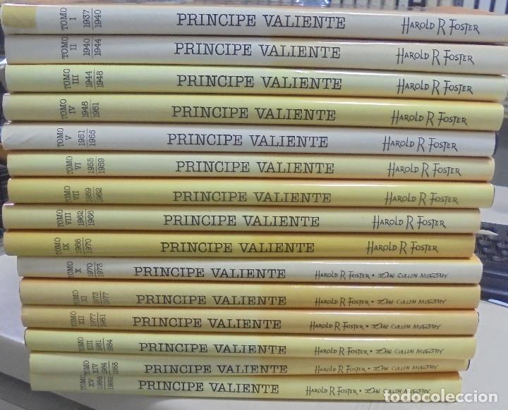 COLECCION COMPLETA. PRINCIPE VALIENTE. 15 TOMOS. EDICION HISTORICA. EDICIONES B. 1988 (Tebeos y Comics - Ediciones B - Otros)