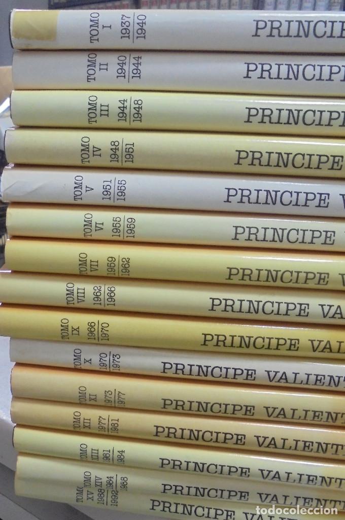 Cómics: COLECCION COMPLETA. PRINCIPE VALIENTE. 15 TOMOS. EDICION HISTORICA. EDICIONES B. 1988 - Foto 2 - 88280592