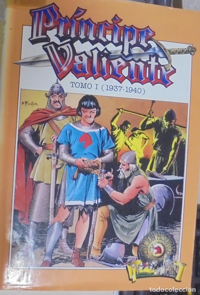Cómics: COLECCION COMPLETA. PRINCIPE VALIENTE. 15 TOMOS. EDICION HISTORICA. EDICIONES B. 1988 - Foto 3 - 88280592