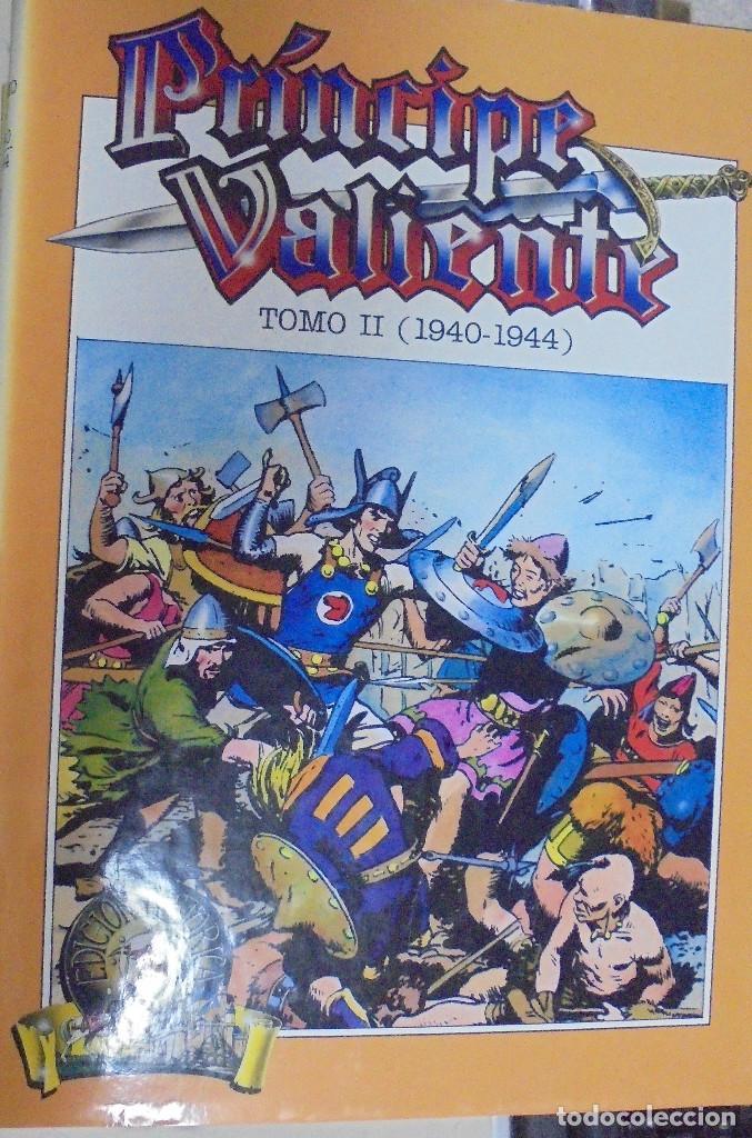 Cómics: COLECCION COMPLETA. PRINCIPE VALIENTE. 15 TOMOS. EDICION HISTORICA. EDICIONES B. 1988 - Foto 4 - 88280592