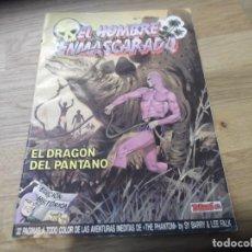 Cómics: EL HOMBRE ENMASCARADO. TEBEOS S.A. EDICIONES B. EDICIÓN HISTÓRICA. Nº 7. 1988. EL DRAGÓN DEL PANTANO. Lote 88302300