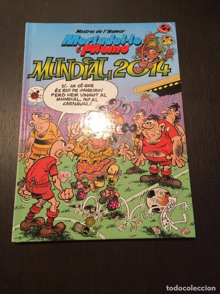 MESTRES DE L'HUMOR MORTADEL.LO I FILEMÓ - MUNDIAL 2014 (Tebeos y Comics - Ediciones B - Humor)