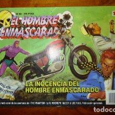Cómics: EL HOMBRE ENMASCARADO. 60 : LA INOCENCIA DEL HOMBRE ENMASCARADO. [EDICIÓN HISTÓRICA]. Lote 88955680