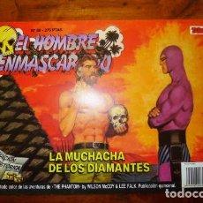 Cómics: EL HOMBRE ENMASCARADO. 69 : LA MUCHACHA DE LOS DIAMANTES. [EDICIÓN HISTÓRICA]. Lote 88956276