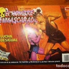 Cómics: EL HOMBRE ENMASCARADO. 72 : LUCHA DESIGUAL. [EDICIÓN HISTÓRICA]. Lote 88956376