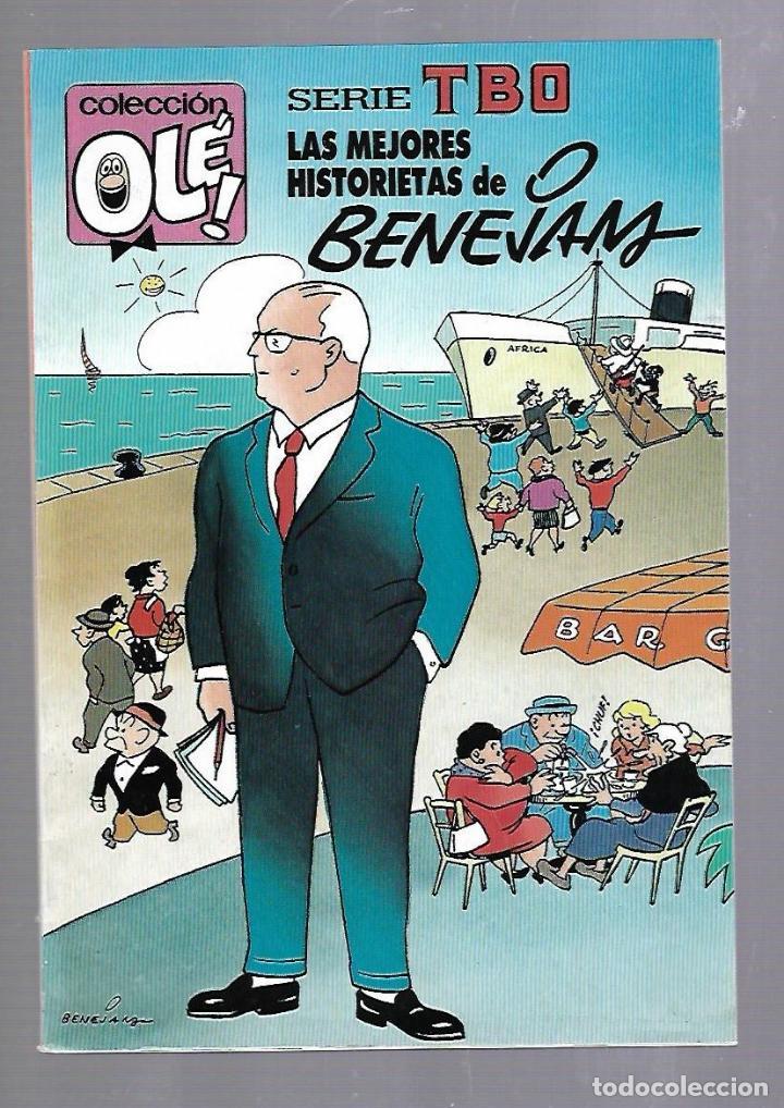SERIE TBO. COLECCION OLE!. LAS MEJORES HISTORIETAS DE BENEJAM. 411. V.29. EDICIONES B (Tebeos y Comics - Ediciones B - Clásicos Españoles)